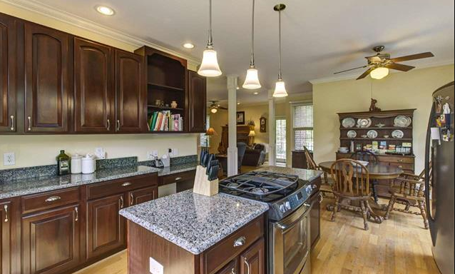 You'll love using the stainless steel appliances and gas stovetop!