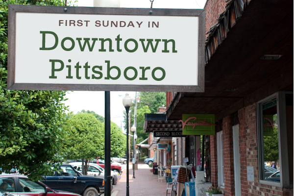 downtown pittsboro