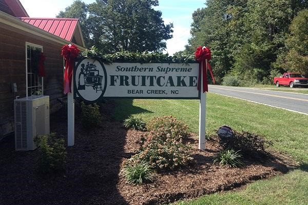 Fruitcake in Chatham County